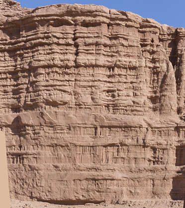 morocco cliffs cliff layers geological sediment