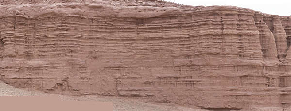 morocco cliffs cliff rock arid layers geological sediment
