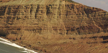 rock layers geological cliff cliffs mountain
