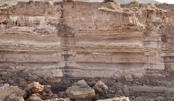 morocco rock rocks cliff layered layers sediment