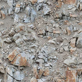 rock rocks rough ground