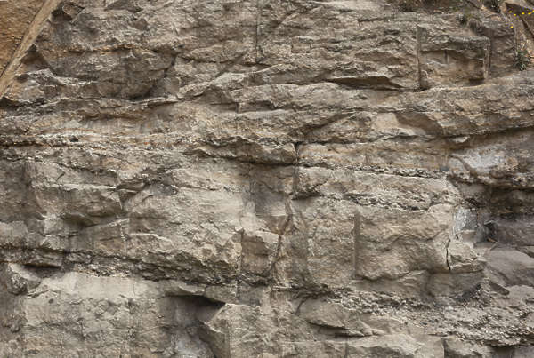 rock cliff facade sharp