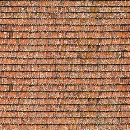 rooftiles roofing ceramic old flat roof