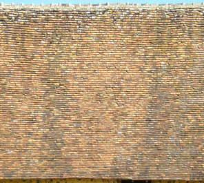 rooftiles ceramic tiles roof roofing old