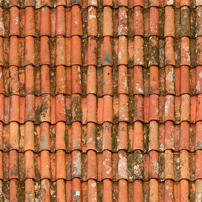Rooftilesceramicold0056 Free Background Texture