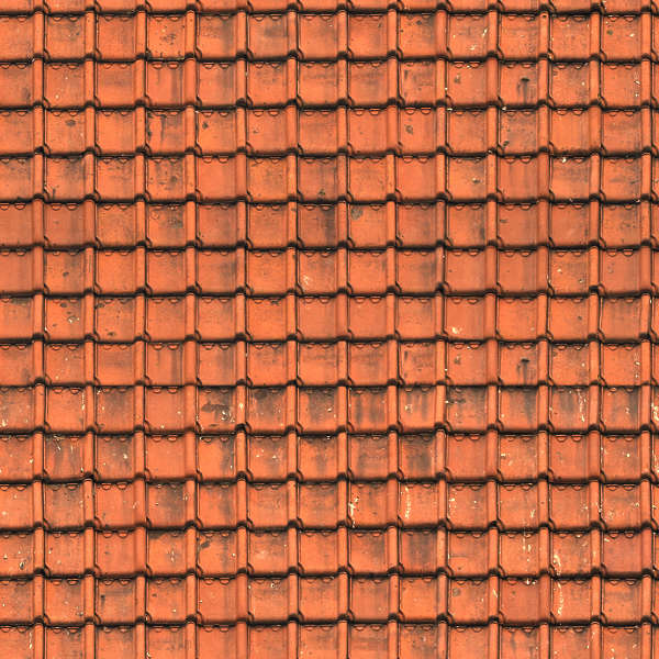 Rooftilesceramicold0089 Free Background Texture Roof