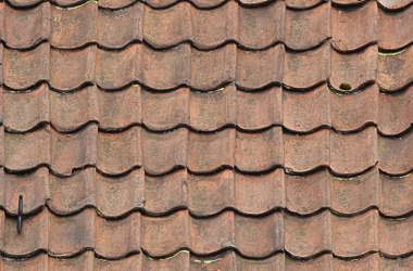 roofing rooftiles ceramic old