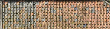 roof roofing ceramic rooftiles old