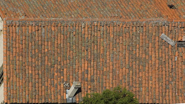 roof rooftiles roofing ceramic old
