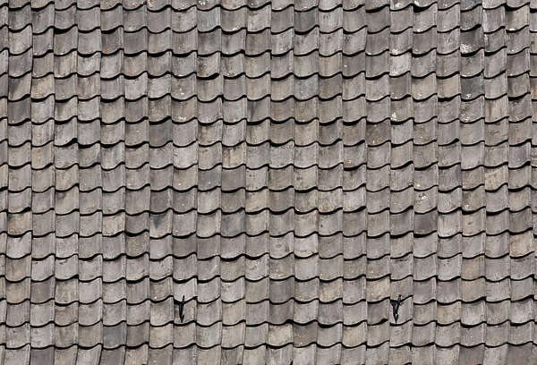 roof roofing rooftiles ceramic old