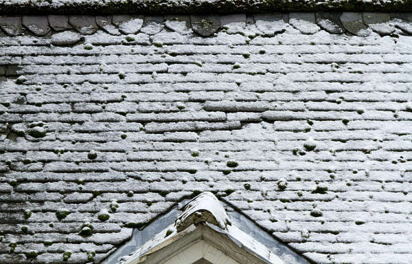 roofing snow slate winter roof