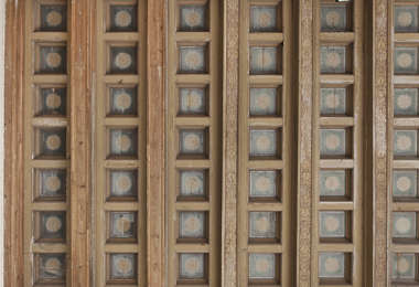 ceiling wooden roofing inside