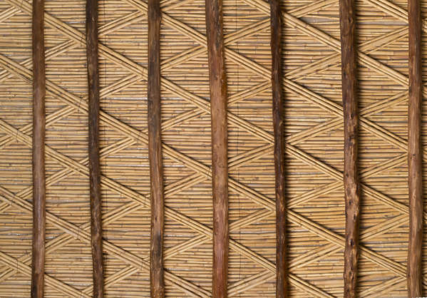 medieval ceiling beam beams twigs morocco wood old roofing inside twig