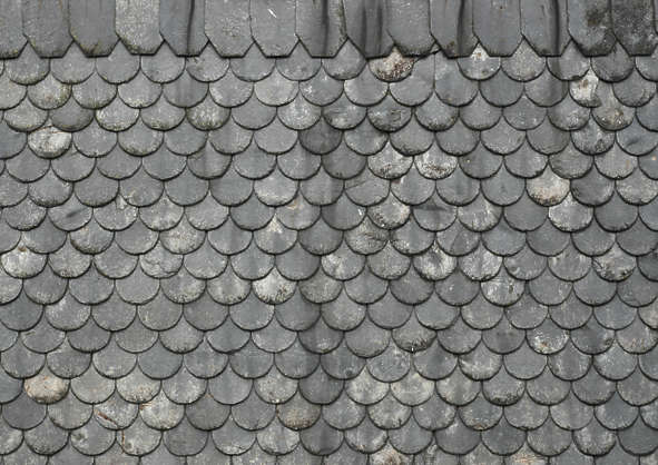 rooftilesslate0045 - free background texture