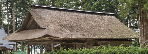 roof temple shrine thatched reference old japan hut