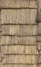 thatched thatch morocco roof roofing wicker