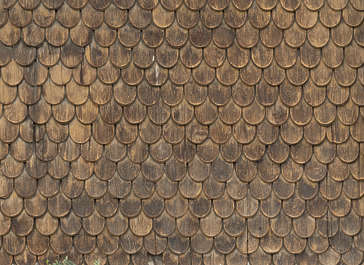 rooftiles roofing wooden shingles wood old siding