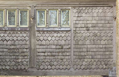 roof roofing rooftiles wood tiles shingles medieval old window windows windows