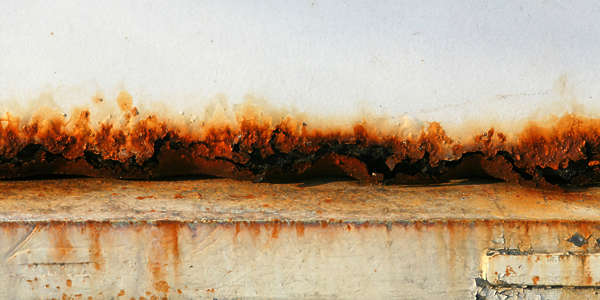 rust paint gradient rusted