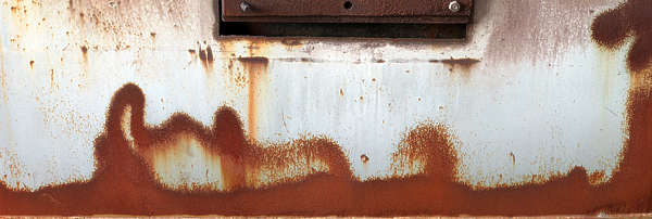 paint rusted rust