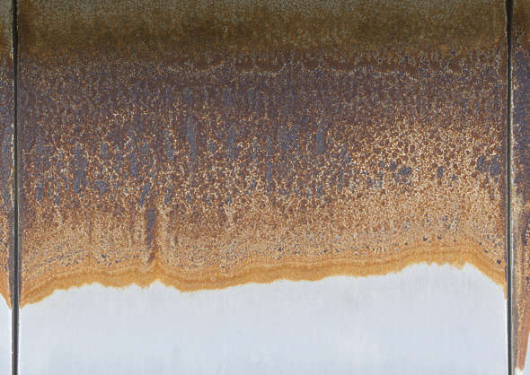 metal rust paint leaking rusted gradient