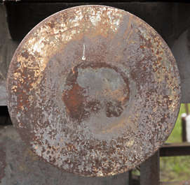 rust rusted round