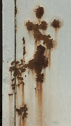 rust rusted paint painted