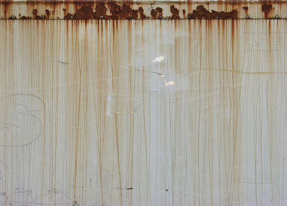 rust metal leaking paint