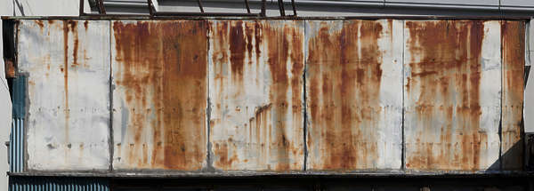 japan asia metal rust rusted leaking