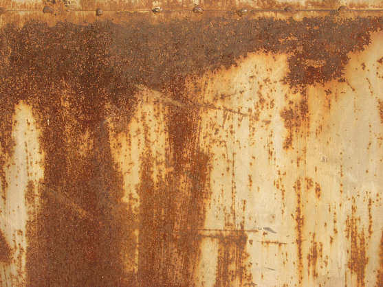 rust heavy paint seam welds