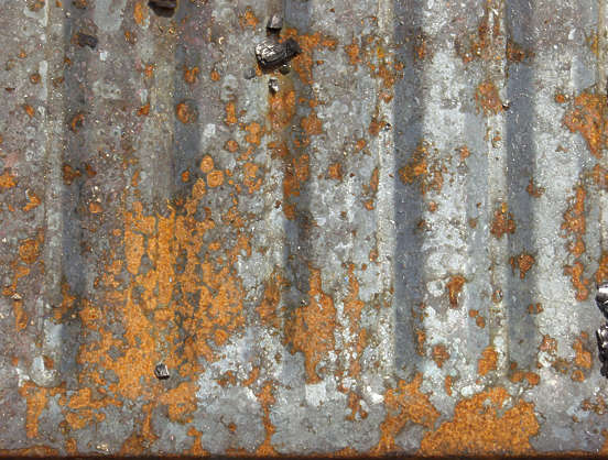 rust heavy paint