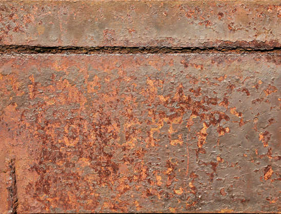 rust heavy plain seam