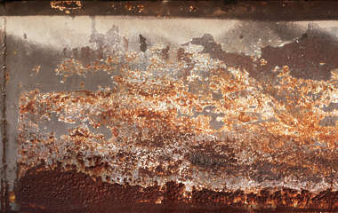 paint rusted rust mixed