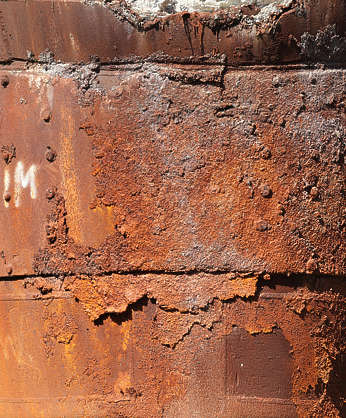 rust rough silo insulation