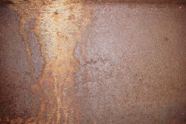 rust leather leaking