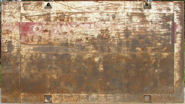 metal rust scratches