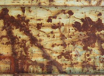 rust heavy paint scratches
