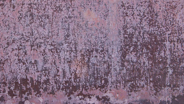 rust heavy paint spots noise