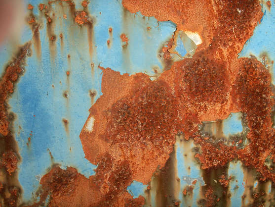 rust paint rusted