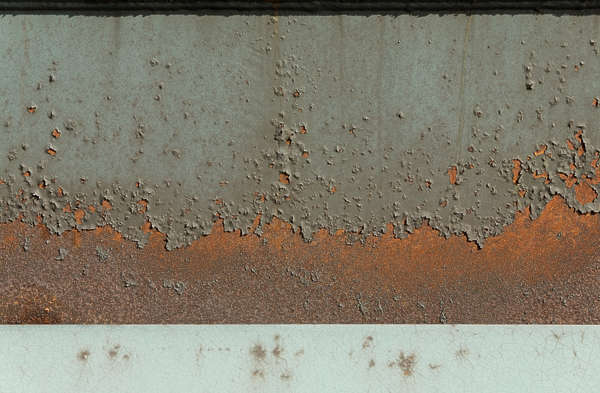 paint rust edge gradient rusted