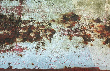 metal rust paint rusted