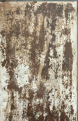 metal rust rusted paint door