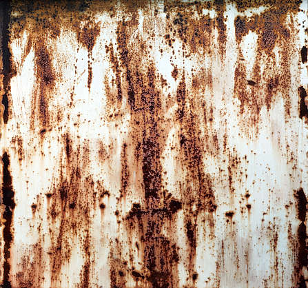 rust mixed paint