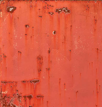 paint rust rusted
