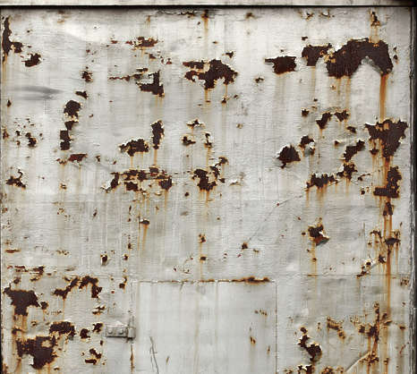 metal paint rusted rust