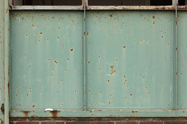 metal rust rusted panel paint