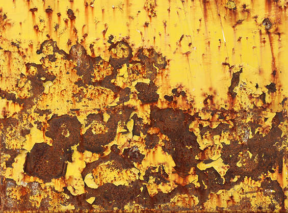metal rusted rust paint