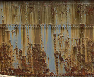 metal rust paint spots