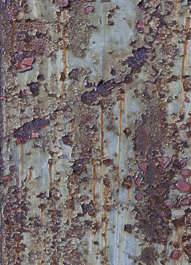 metal paint painted rust rusted