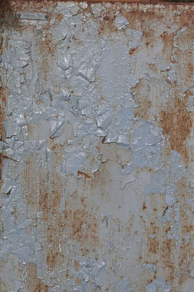 metal rust rusted paint